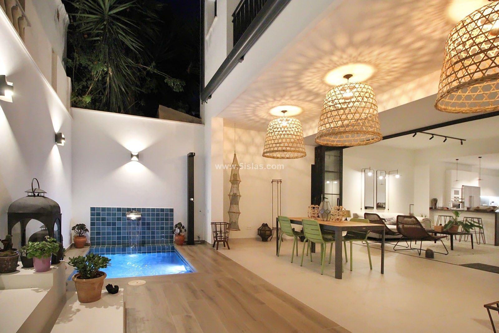 Confortable casa con terrazas y garaje en Son Espanyolet