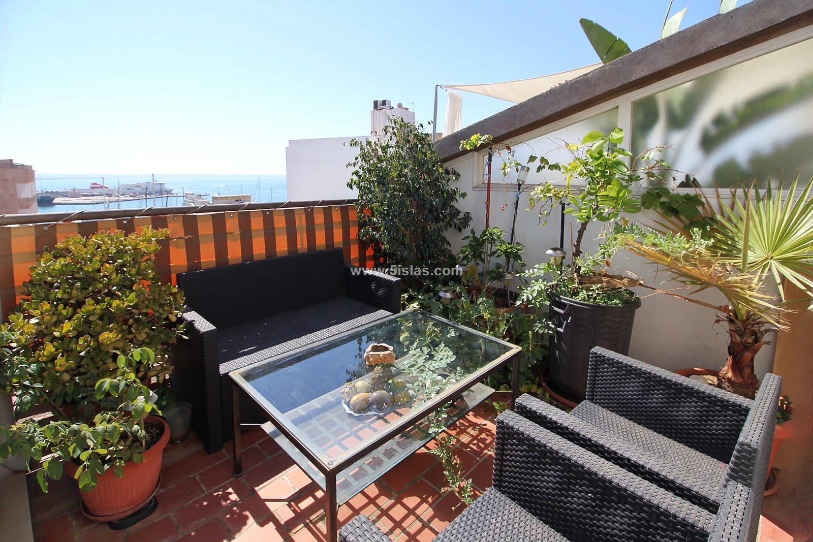 Penthouse triplex con terrazas