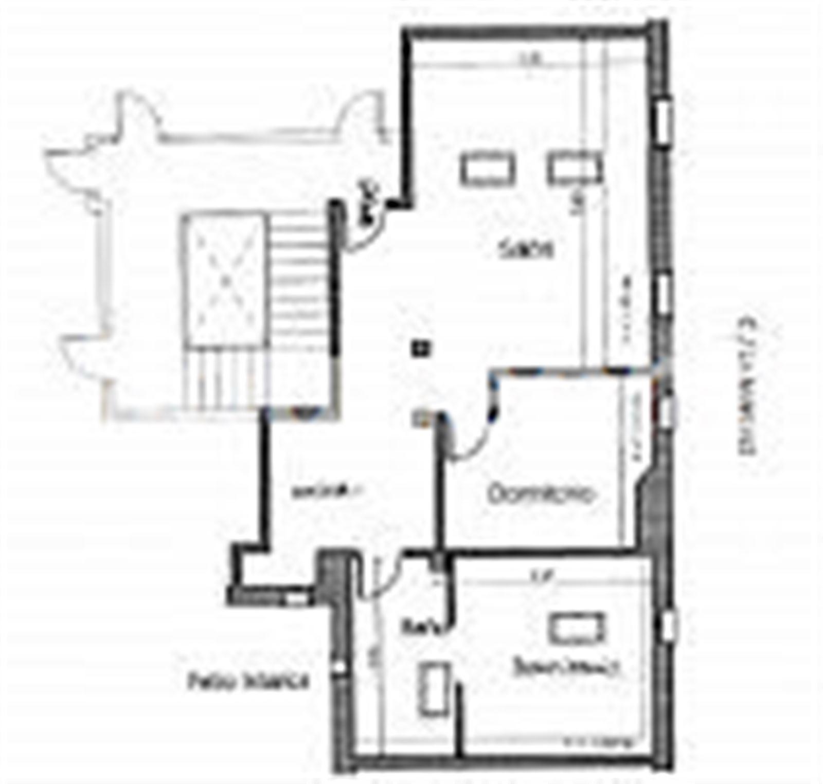 Piso en venta con 57 m2, 2 dormitorios  en Abando (barrutia) (Bilbao (