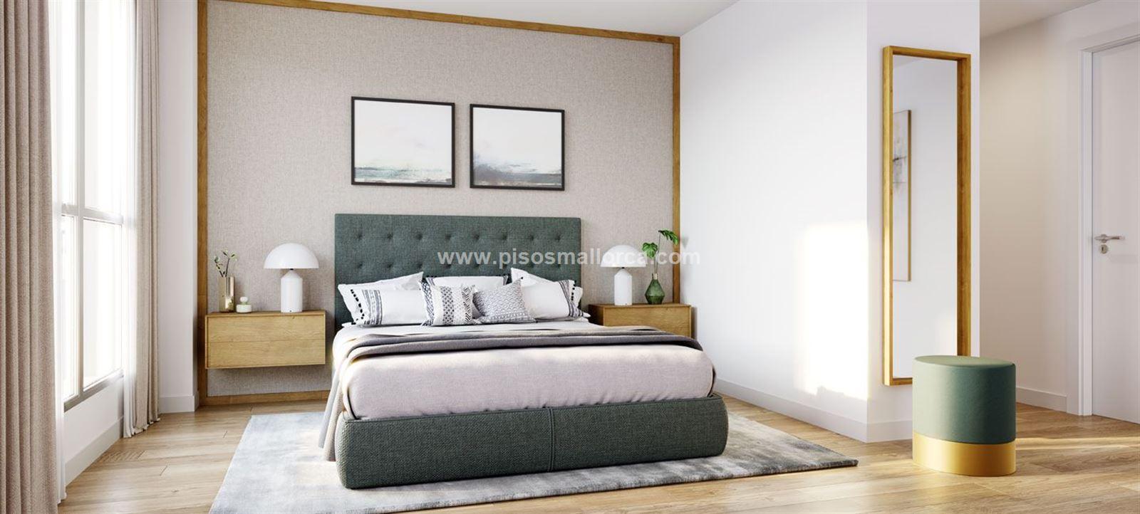 Dormitorios Mallorca.Palma De Mallorca Piso Amanecer 103 M 2 Dormitorios