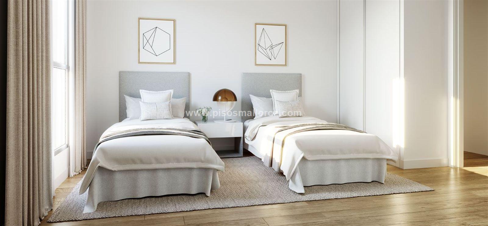 Dormitorios Mallorca.Palma De Mallorca Atico Amanecer 138 M 3 Dormitorios