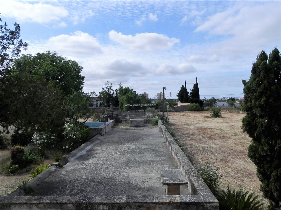 en PALMA DE MALLORCA, area S´INDIOTERIA. Foto